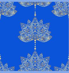 Decorative ornament in ethnic oriental style vector