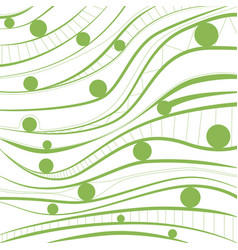 Greenery background abstract geometrical vector