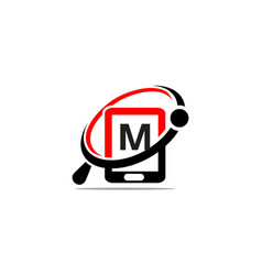 Hand phone search initial m vector