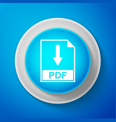 pdf file document icon download pdf button sign vector image