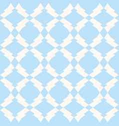 subtle seamless mesh in white and light blue vector image