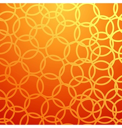 seamless pattern with circles vector image vector image