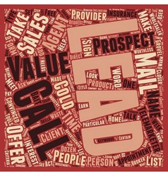 The lie about leads text background wordcloud vector