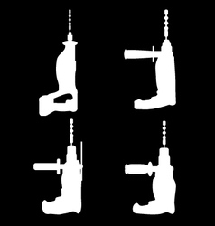 Drills vector image
