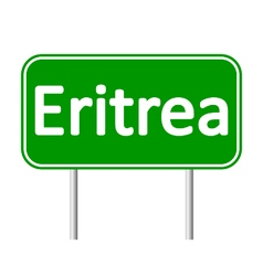 Eritrea road sign vector