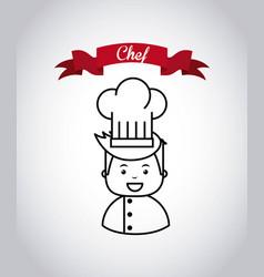 Restaurant menu emblem icon vector