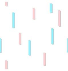 Blue Pink Square Abstract White Background vector image