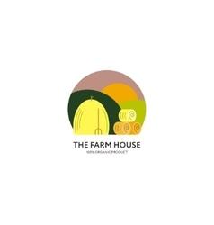 Farm House logo vector image vector image
