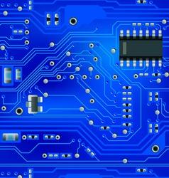 seamless blue board vector image