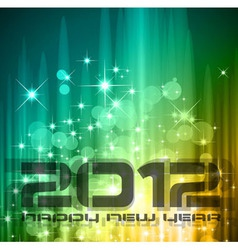 2012 new year celebration vector image vector image