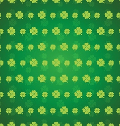 Clover seamless pattern vector