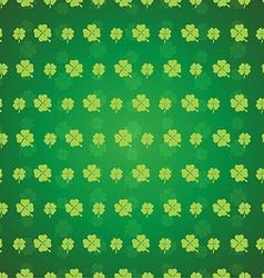 Clover seamless pattern vector