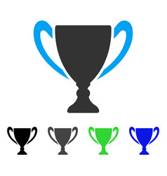 Cup flat icon vector
