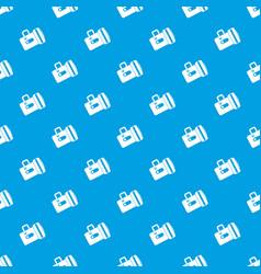flashlight pattern seamless blue vector image