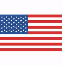 image american flag vector image