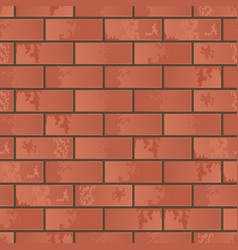imitation of a brick wall vector image