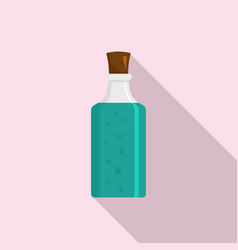 potion icon flat style vector image