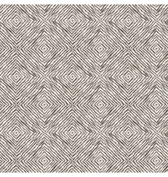 Seamless pattern of lines drawn by brush and ink vector image