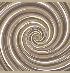 swirling backdrop spiral surface nut color with vector image