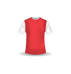 T shirt mockup design template vector
