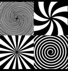 creative of hypnotic vector image