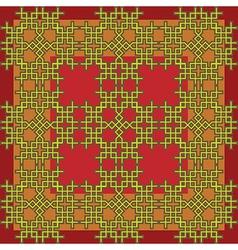 seamless celtic frame vector image