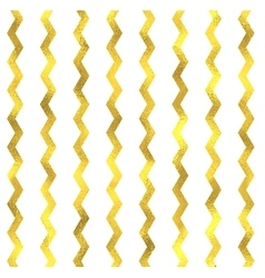 Gold glittering foil seamless pattern vector