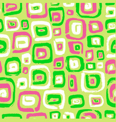 seamless pattern with abstract square elements vector image vector image