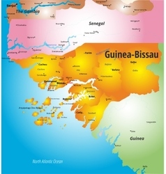 Guinea-Bissau vector image vector image