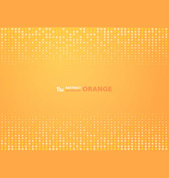 abstract gradient orange color with circles vector image