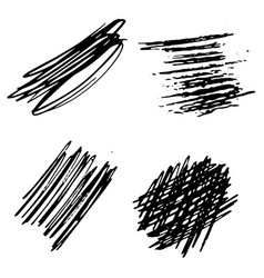 background black and white abstract texture vector image