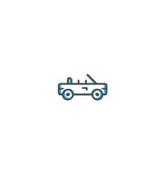 car icon design transportation icon design vector image