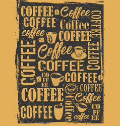 Coffee shop poster 1 vector