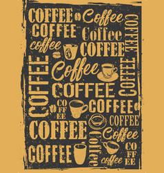 Coffee shop poster 1 vector