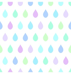 Cool Rain White Background vector image