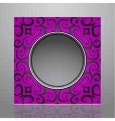 Decorative frame design vector image vector image