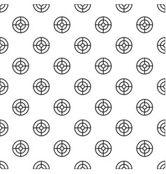 futuristic aim scope pattern seamless vector image