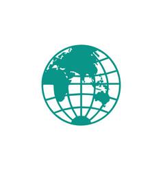 Globe logo icon design icon element vector