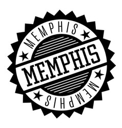 memphis black and white badge vector image