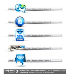 modern search banners vector image