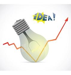 New idea design vector image