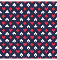 Poker pattern or texture vector