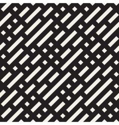 Seamless Diagonal Irregular Dash Lines vector image