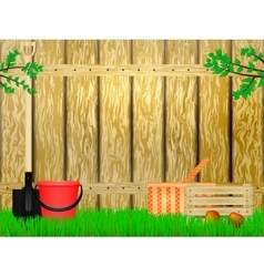 Time to the summer cottage vector image vector image