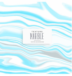 blue texture marble vector image
