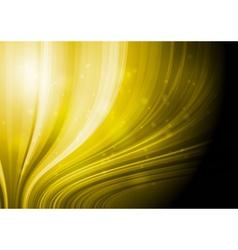 Bright yellow design vector image