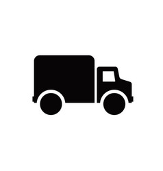 car delivery icon isolated on white background vector image