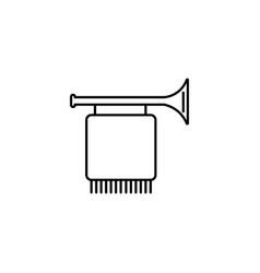 fanfare icon vector image