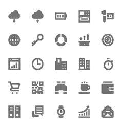 Finance Icons 4 vector image