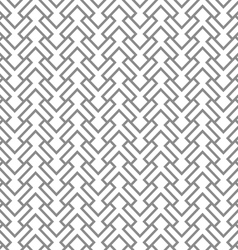 Grey geometric intricate seamless pattern vector